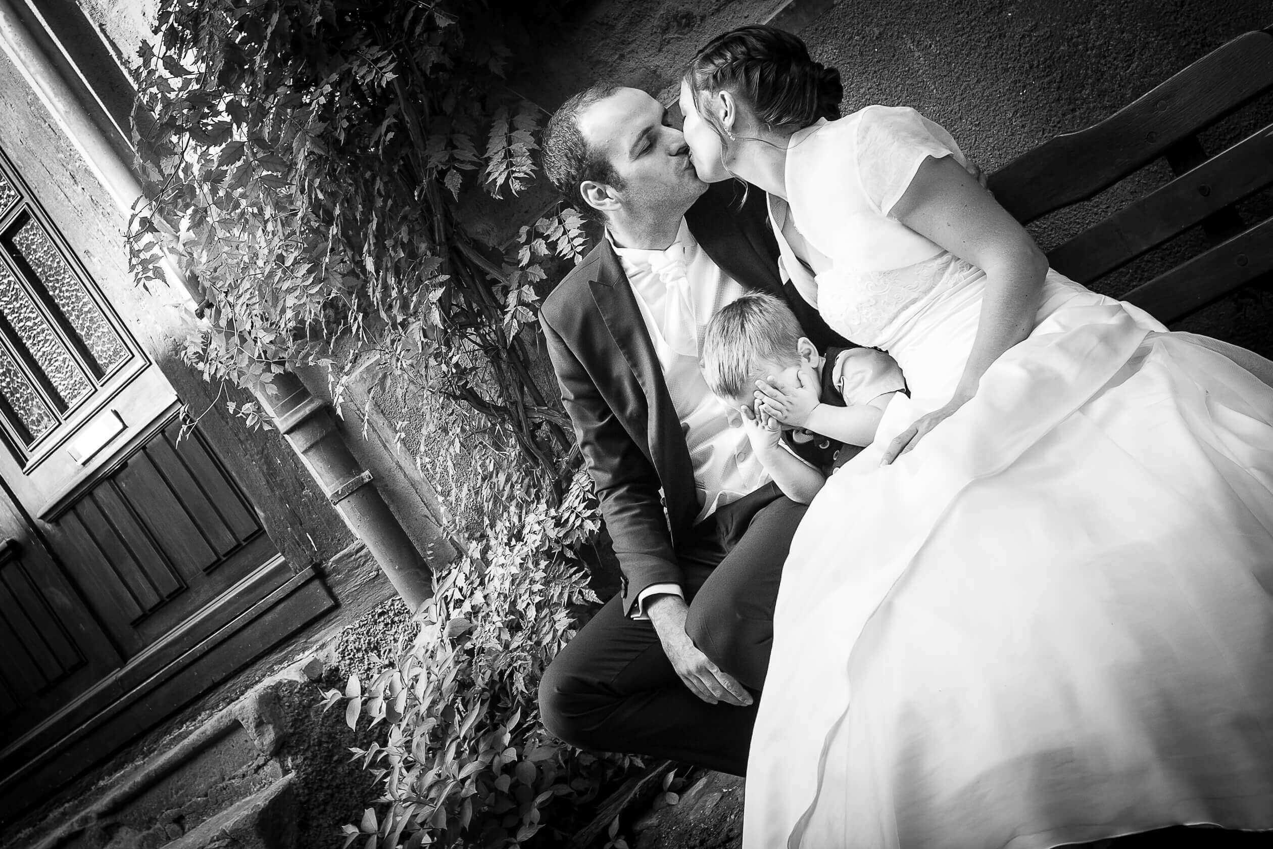 séance photo de mariage à Eguisheim en Alsace