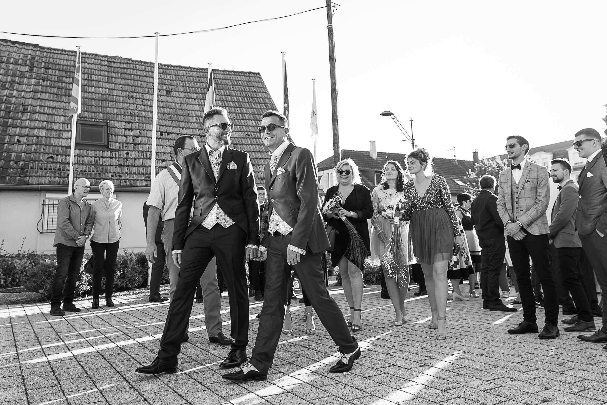 mariage à la mairie de Kingersheim