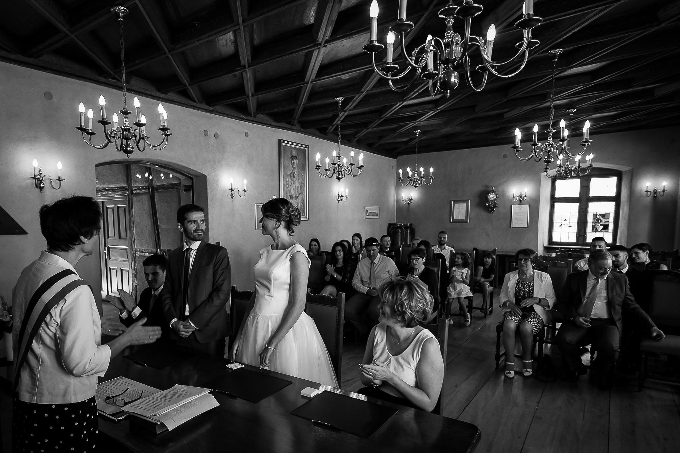 Mariage à la Mairie de Guebwiller