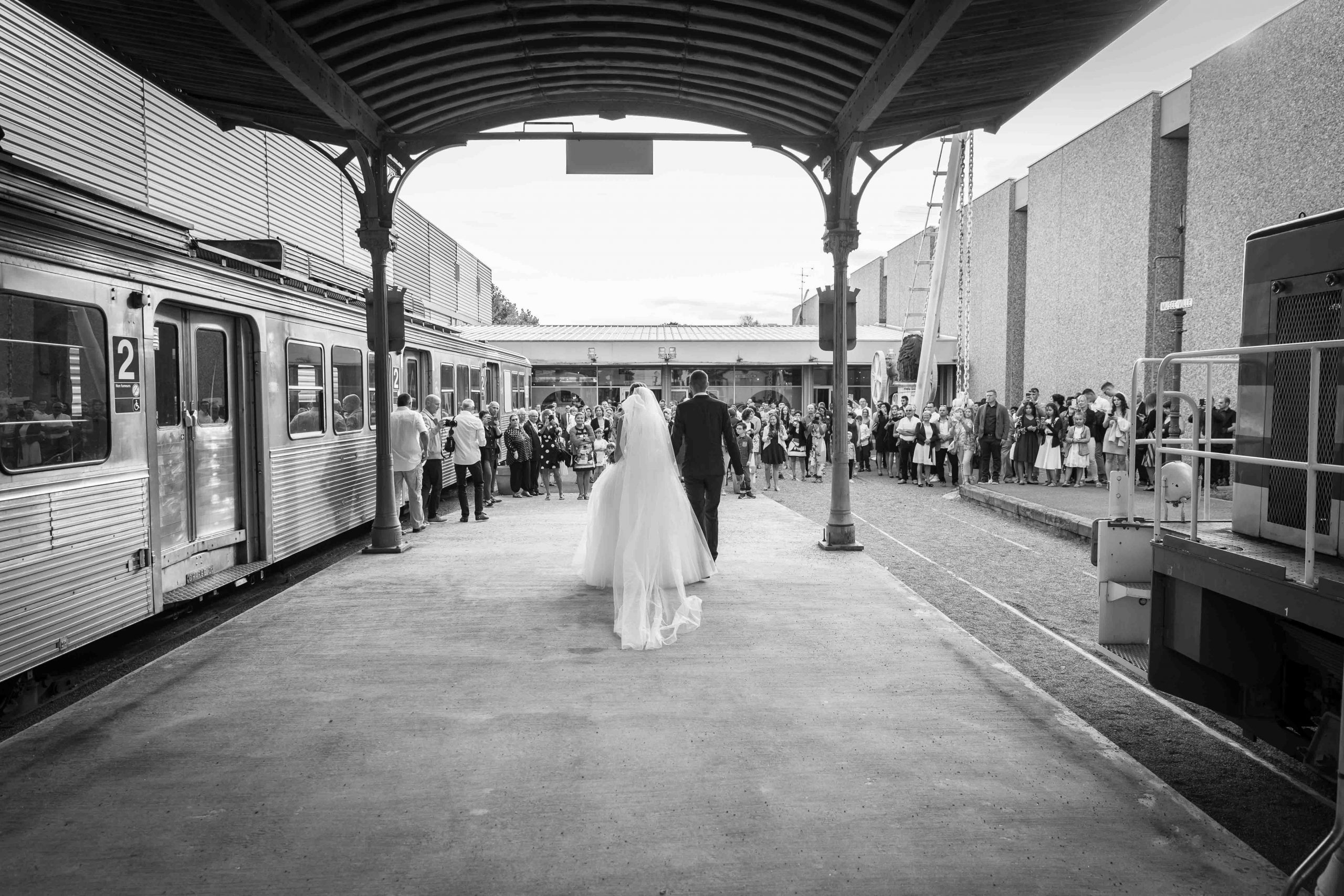 cérémonie de mariage à la Cité du Train de Mulhouse