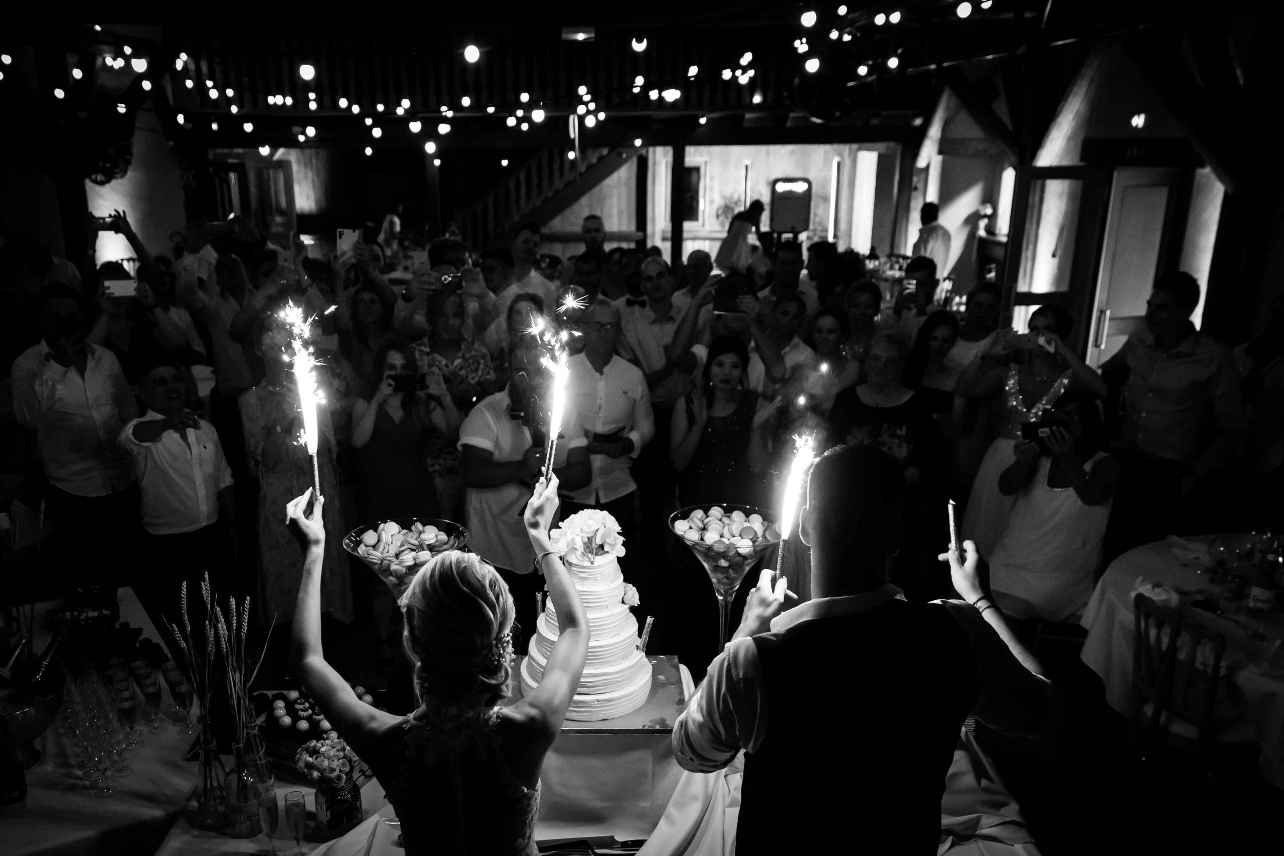 la pièce montée des mariés lors de leur mariage à Winckel dan sle jura alsacien