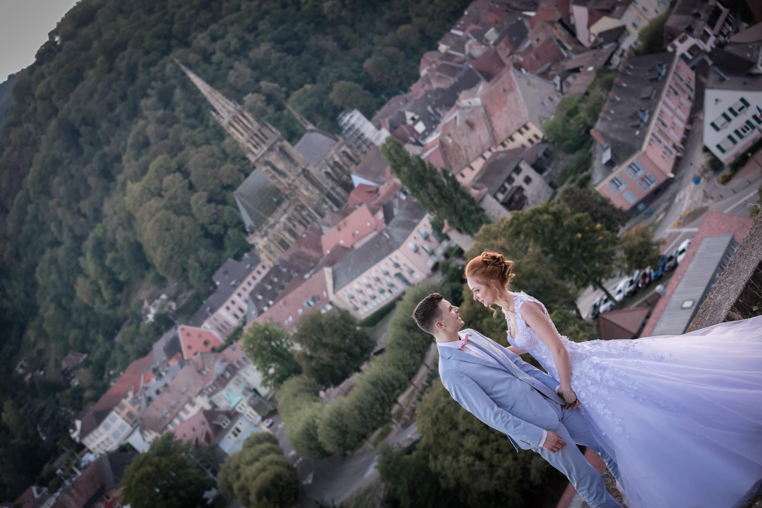 Mariage à Thann Haut-Rhin