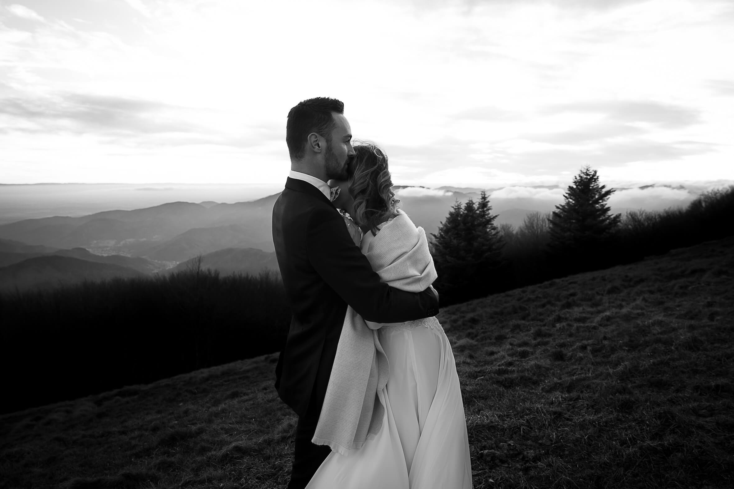shooting de mariage au grand ballon des vosges day after