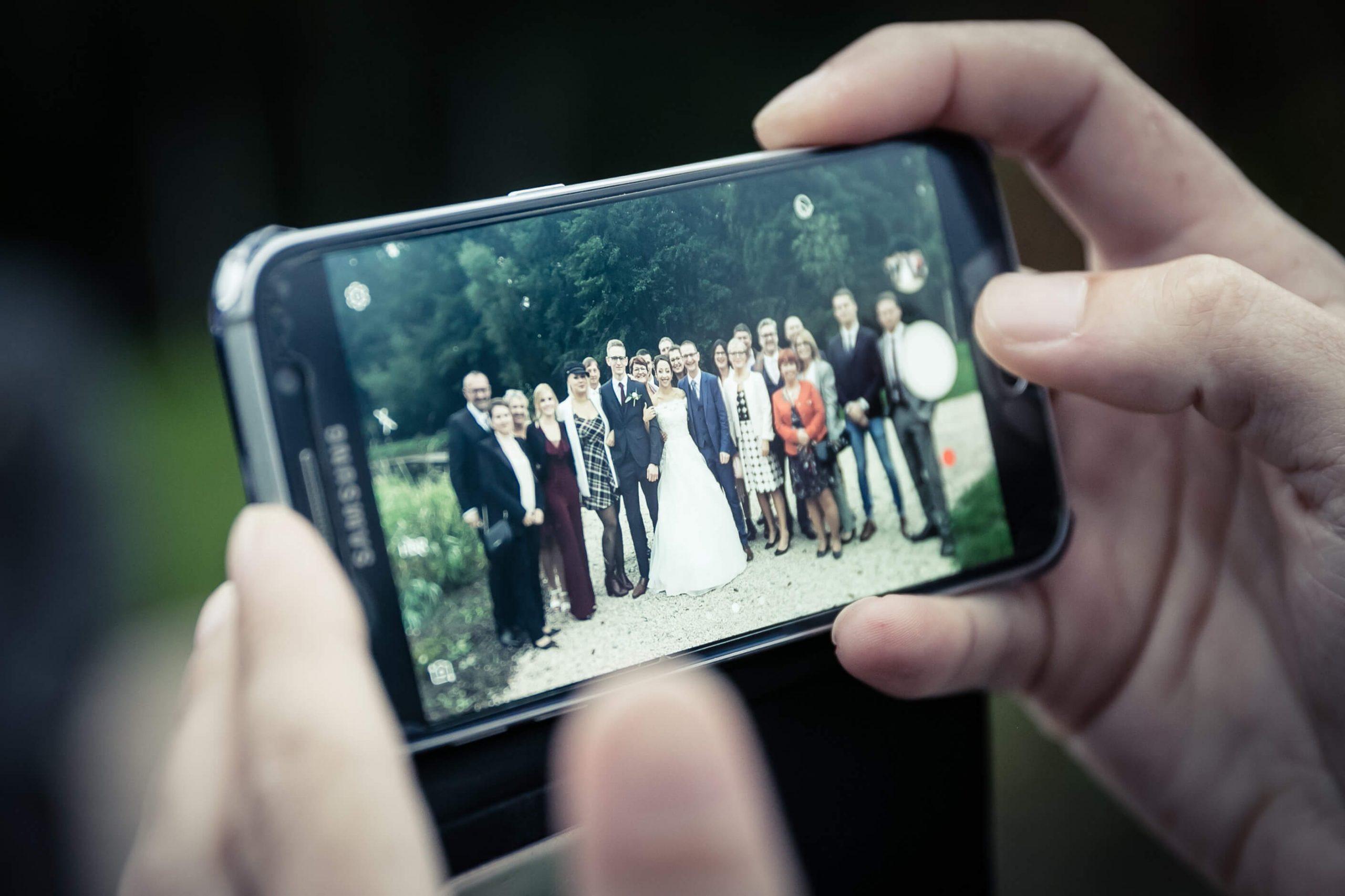 photo insolite mariage au domaine de la Mangue
