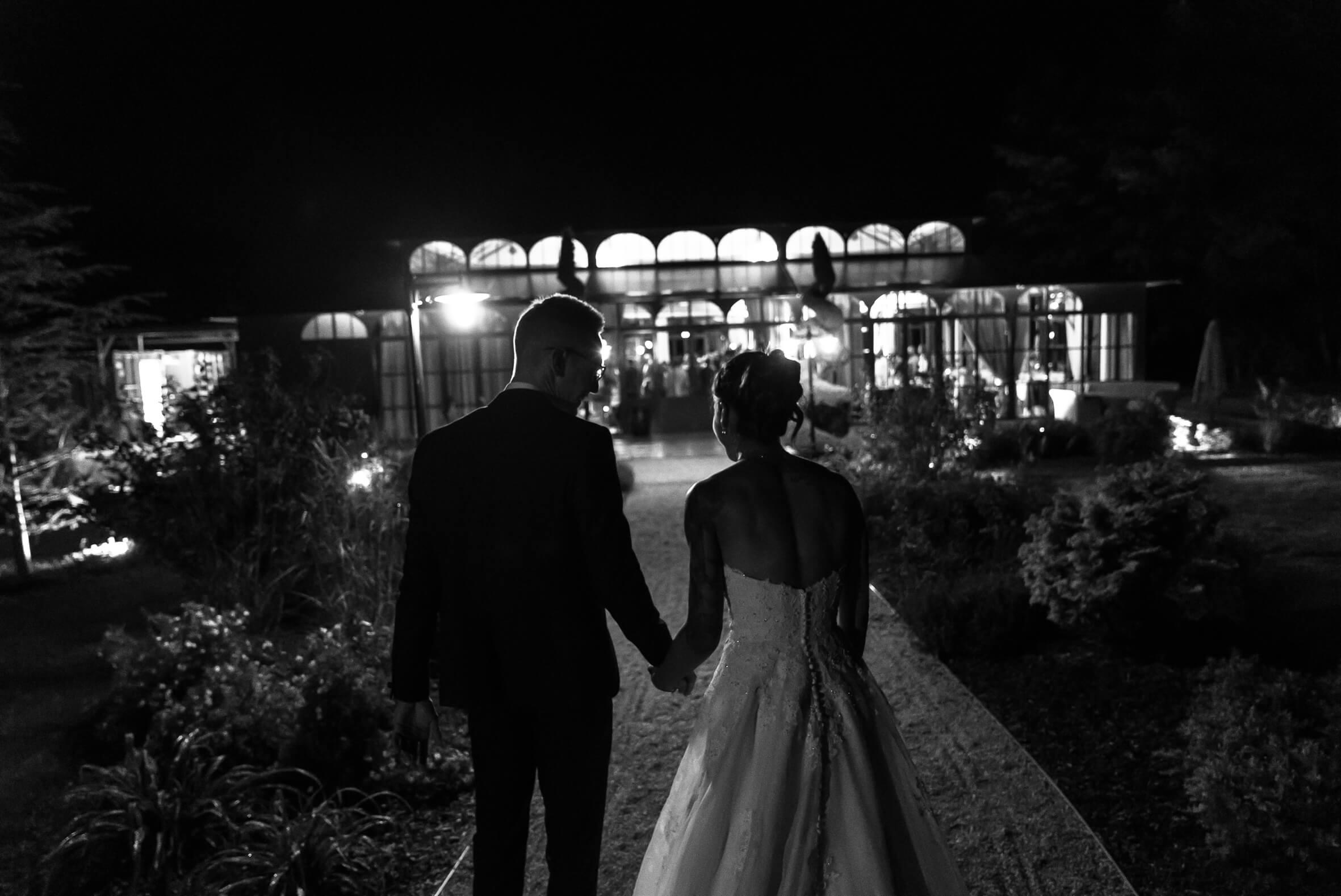 début de soirée du mariage au moulin de la Mangue enFranche Comté