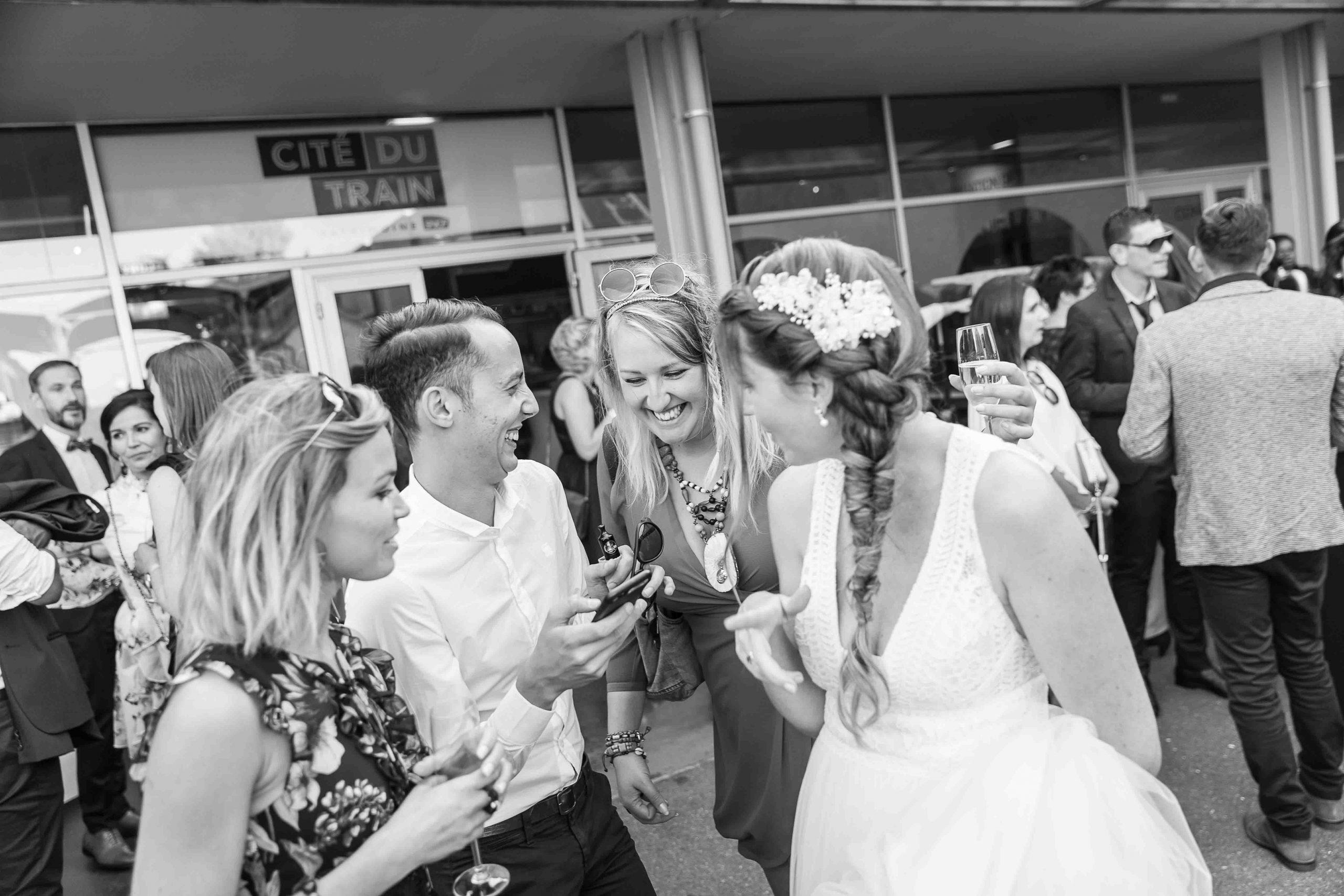 photos volées lors d'un mariage à la Cité du train de Muhouse
