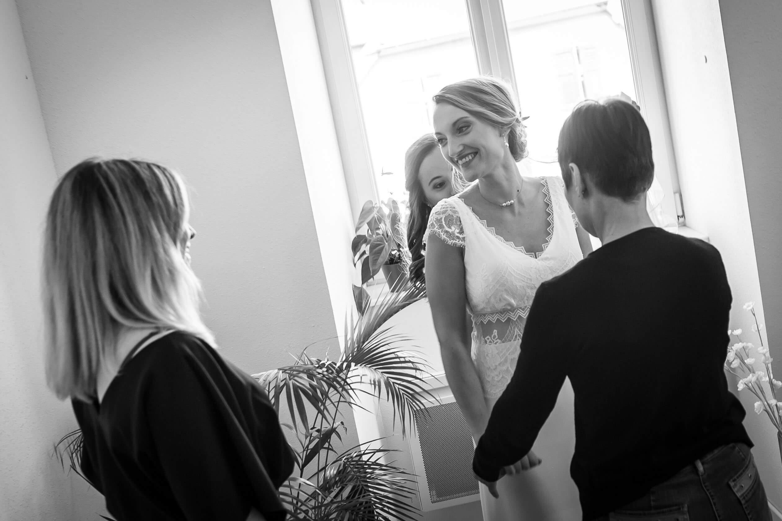séance photo préparatifs du mariage