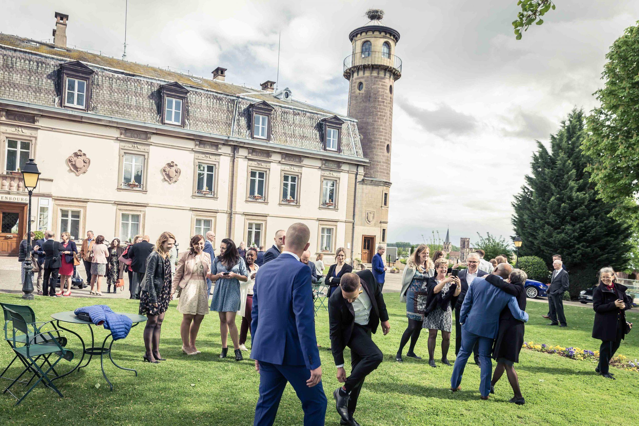 mariage au Chateau d'Issenbourg à Rouffach en Alsace