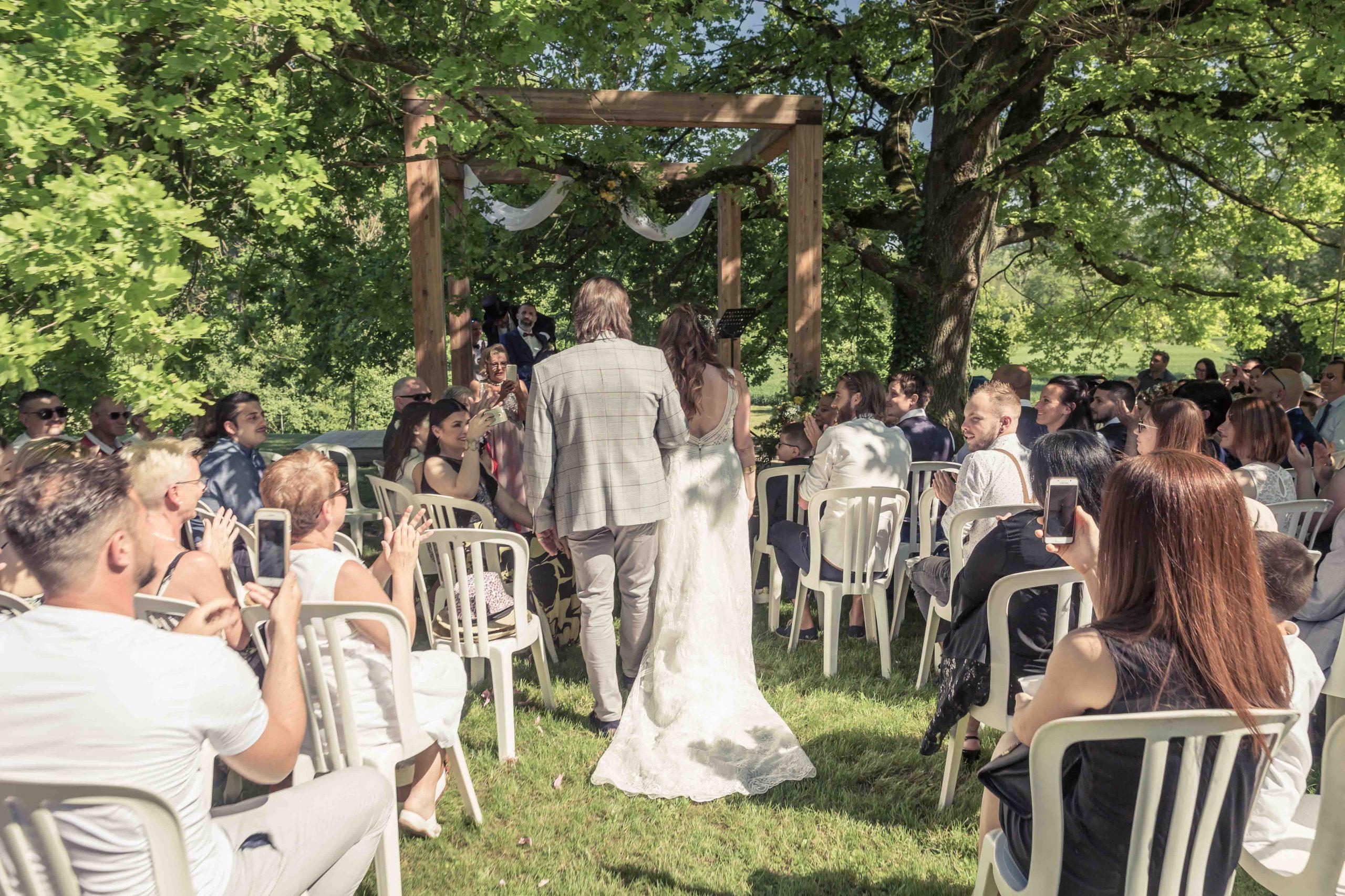 wedding cérémonie au domaine du Kaegy de Steinbrunn-le-haut
