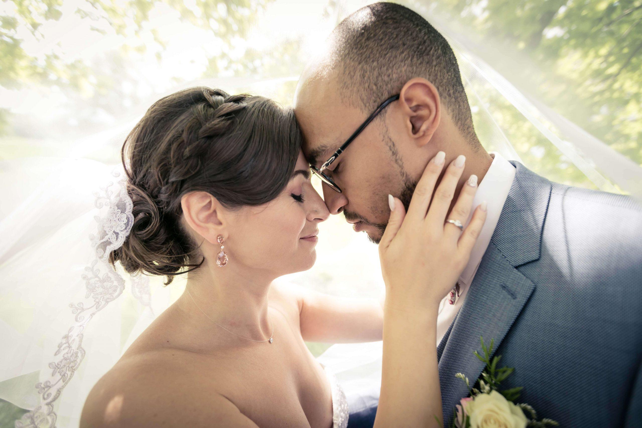 séance photo de mariage le jour-J au domaine du Kaegy en Alsace