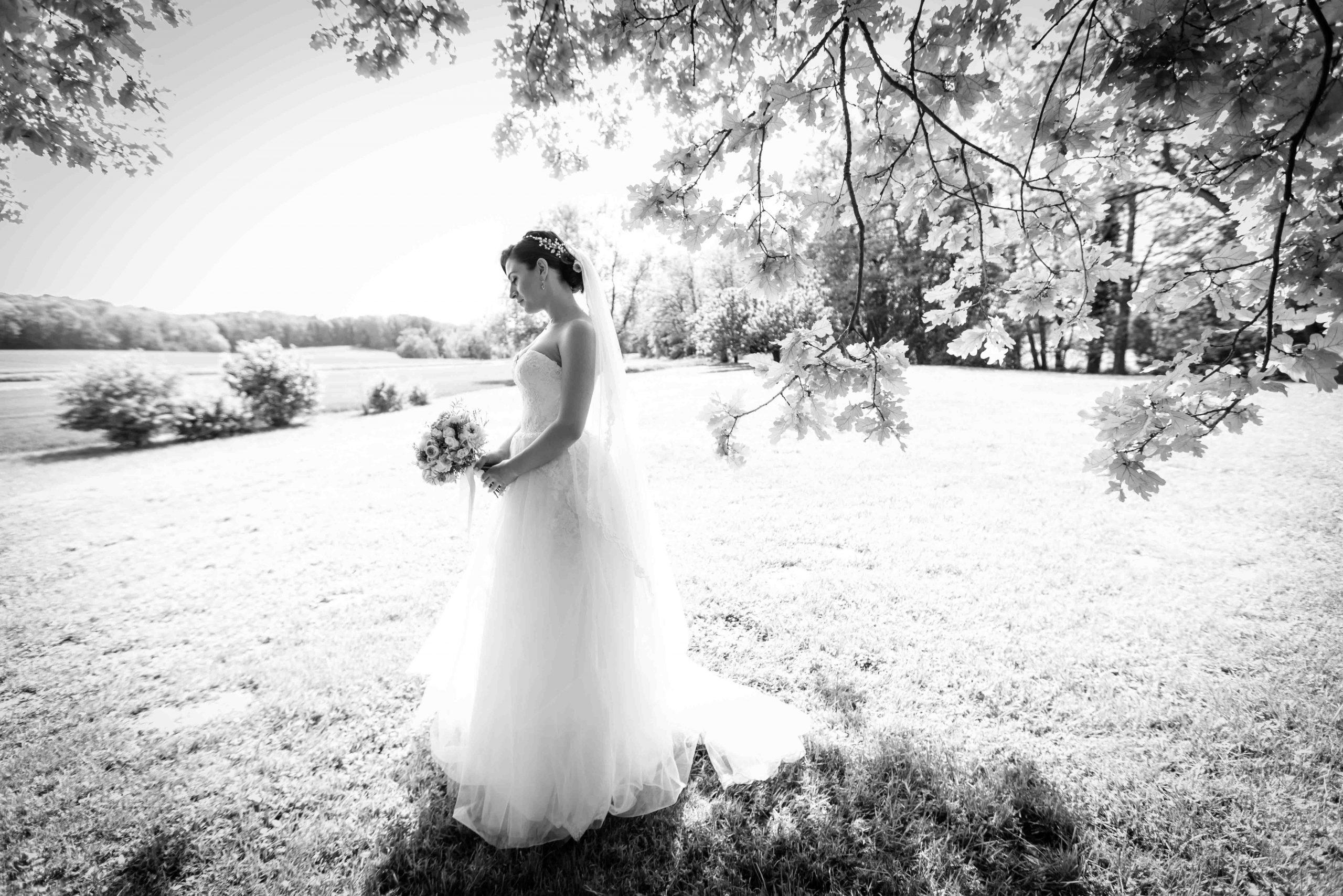 Séance photo de mariage glamour