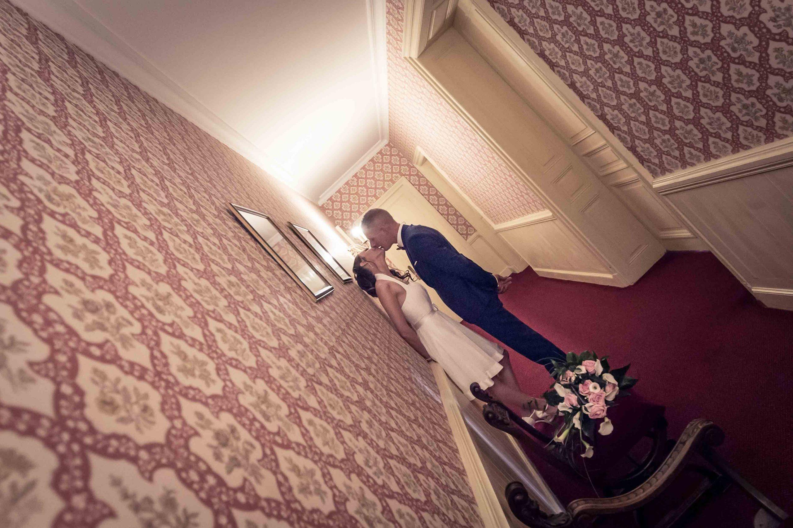 séance de photo de mariage au chateau d'Issenbourg de Rouffach