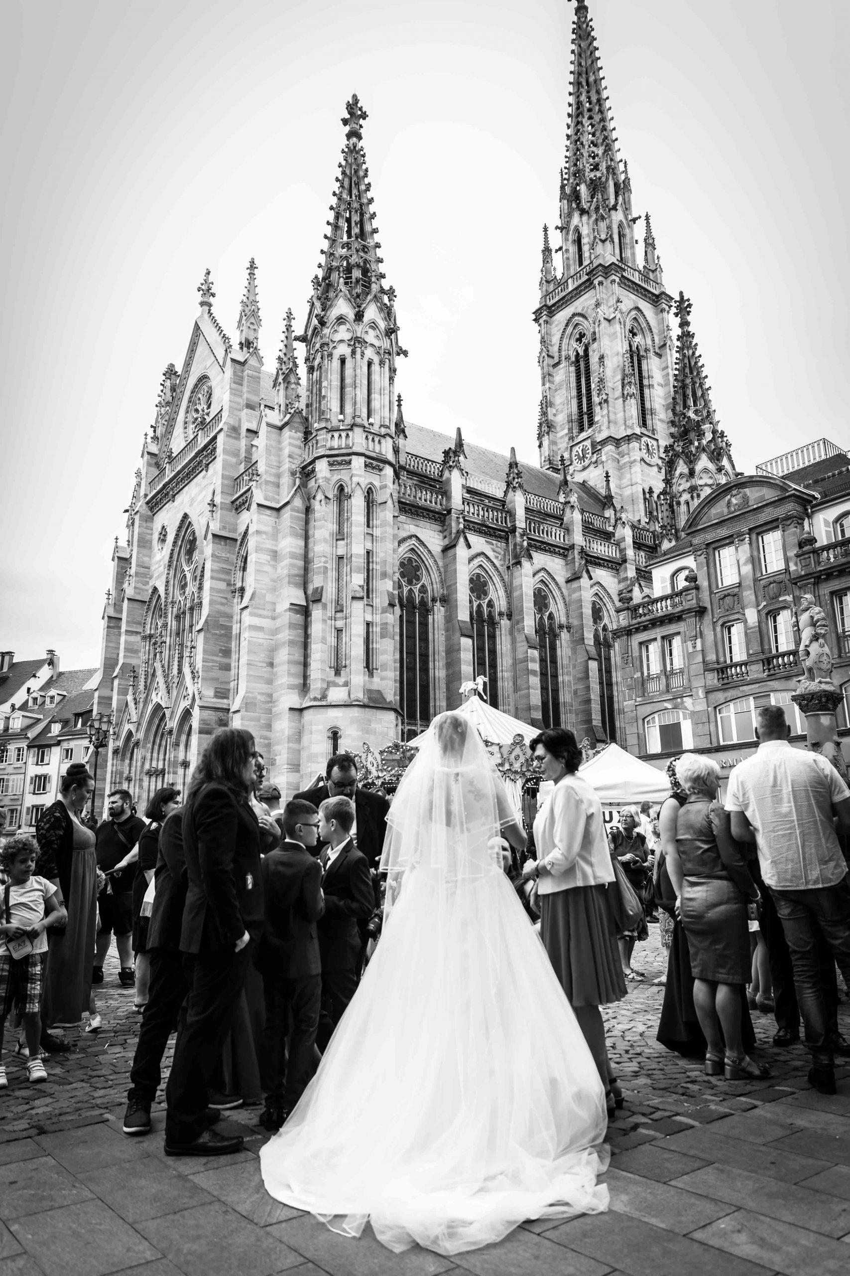 Mariage au centre-ville de Mulhouse Haut-Rhin Alsace