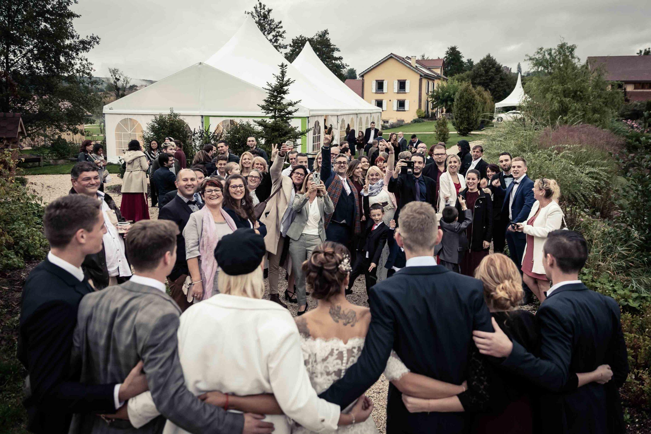 Mariage au domaine de la Mangue en Franche-Comté